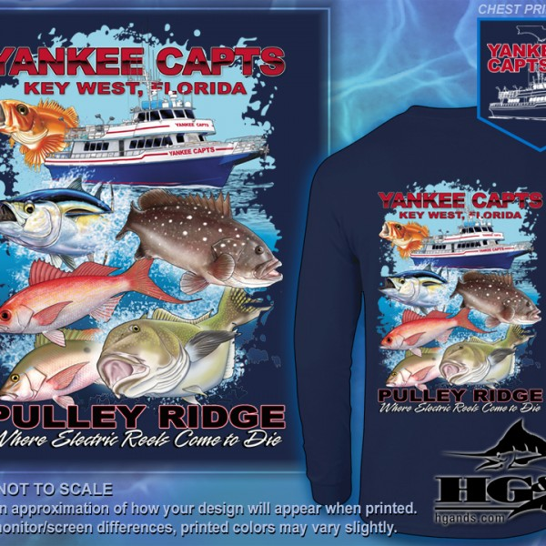 Yankee Capts-Pulley Ridge 2016 Shirt